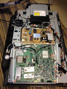 レグザ26R1BDPマザーボード不良