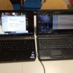 パソコン教室開催前準備